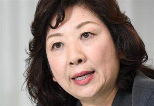 暴力団幹部の女、野田聖子